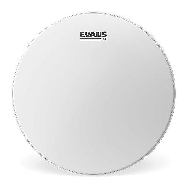 """Pele Para Caixa / Tom Genera G2 Porosa 10"""" Evans B10G2"""