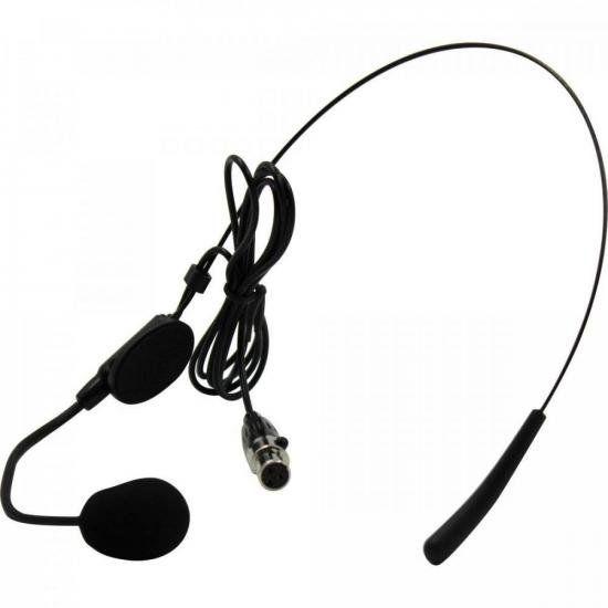 Microfone Headset c/ Fio HD 750R Preto LESON