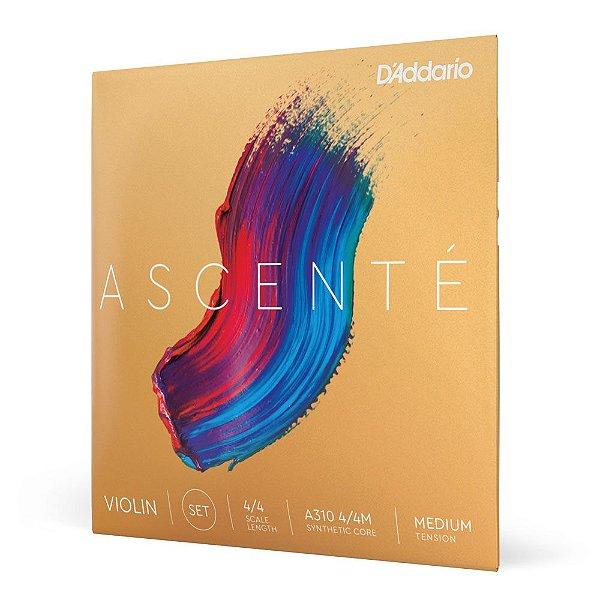 Encordoamento Violino D'Addario Ascenté A310 4/4M