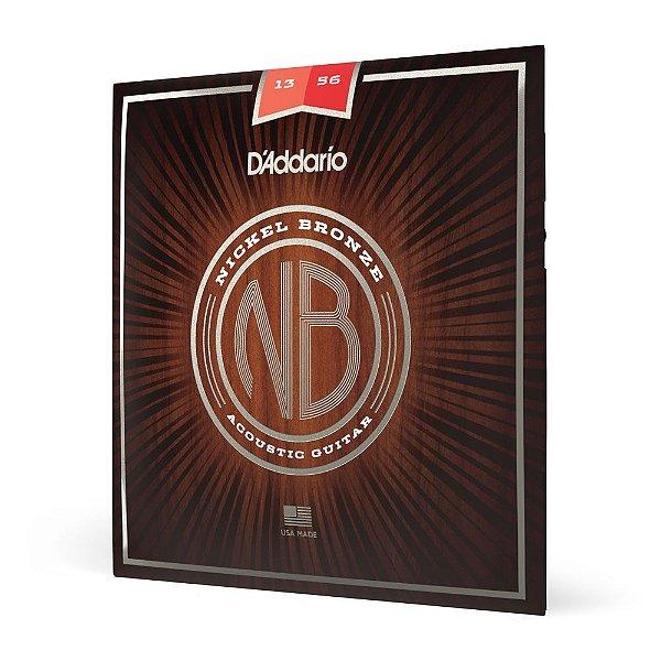 Encordoamento Violão Aço .013 D'Addario Nickel Bronze NB1356