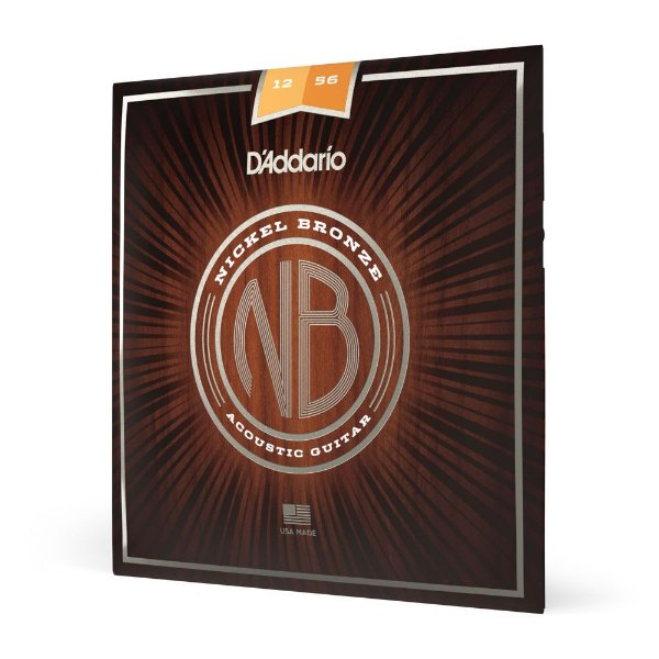 Encordoamento Violão Aço .012 D'Addario Nickel Bronze NB1256