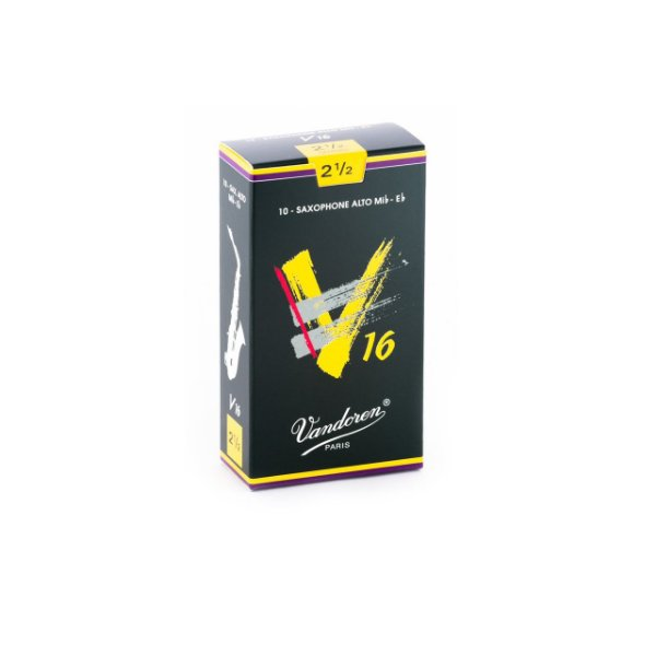 Palheta V16 2,5 P/sax Alto Cx C/10 Sr7025 Vandoren