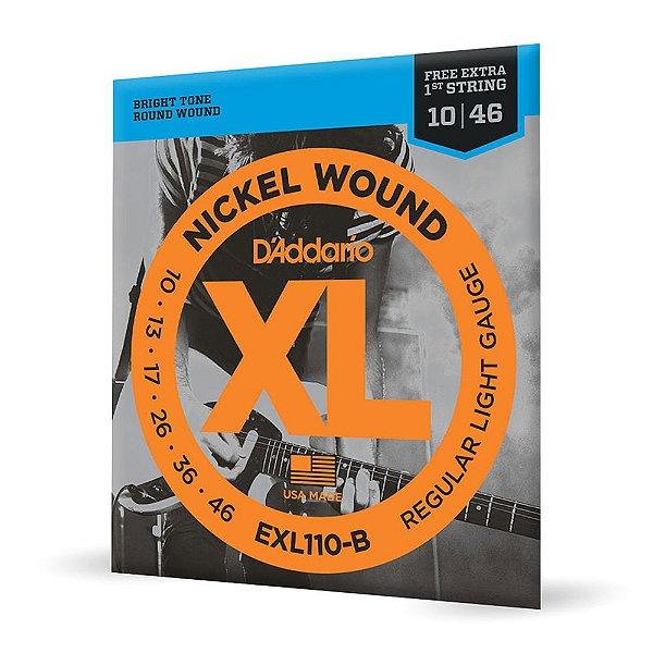 Encord Guitarra .010 Corda Extra PL010 D'Addario EXL110-B