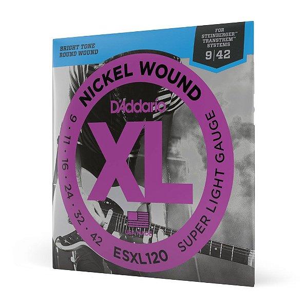 Encord Guitarra .009 D'Addario XL Nickel Wound ESXL120