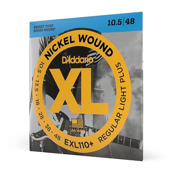 Encordoamento Guitarra .010 Corda Extra D'Addario EXL110+
