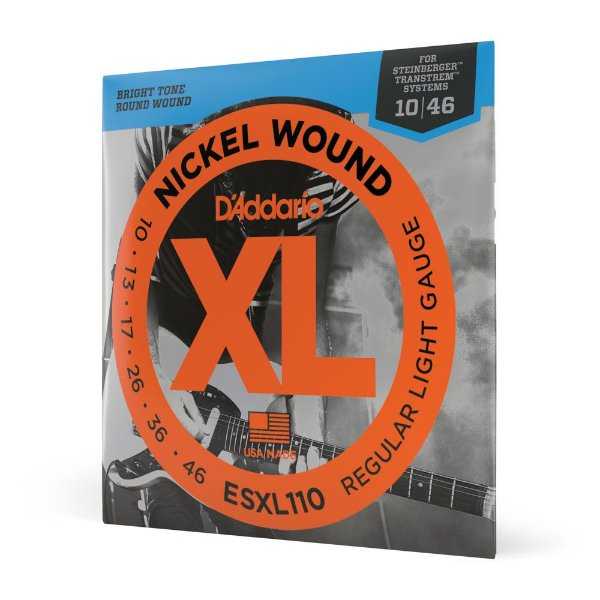 Encord Guitarra .010 D'Addario XL Nickel Wound ESXL110
