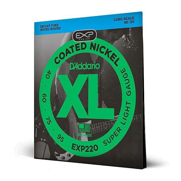 Encord Baixo 4C .040 D'Addario XL EXP Coated Nickel EXP220