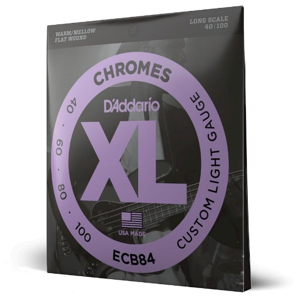 Encord Baixo 4C .040 Polido D'Addario XL Chromes ECB84