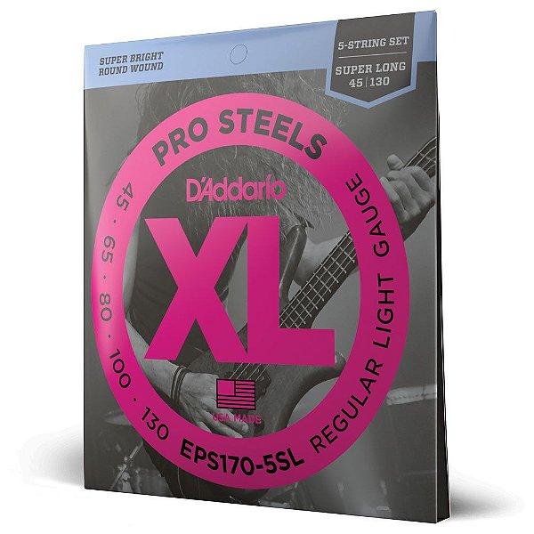 Encord Baixo 5C .045 D'Addario XL Pro Steels EPS170-5SL