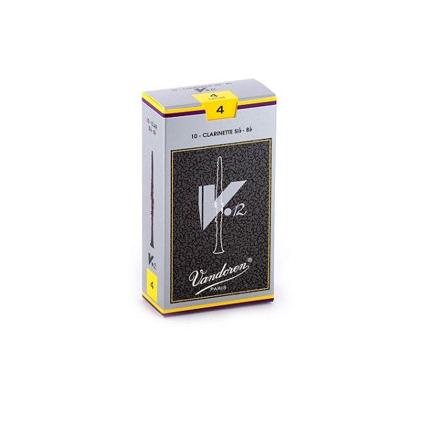 Palheta V.12 4 P/clarinete Sib Cx C/10 Cr194 Vandoren