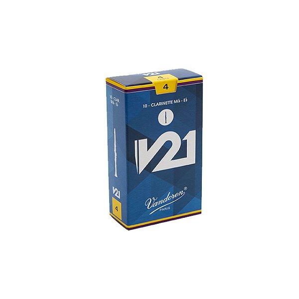 Palheta V21 4 P/clarinete Eb Cx C/10 Cr814 Vandoren