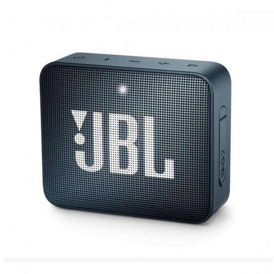 Caixa Multimídia Portátil Bluetooth GO 2 Navy JBL