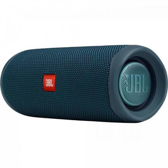 Caixa Multimídia Portátil Bluetooth FLIP 5 Azul JBL