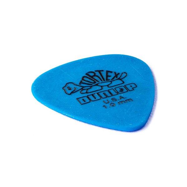 Palheta Tortex 1mm Azul Pct C/12 418p1.0 Dunlop