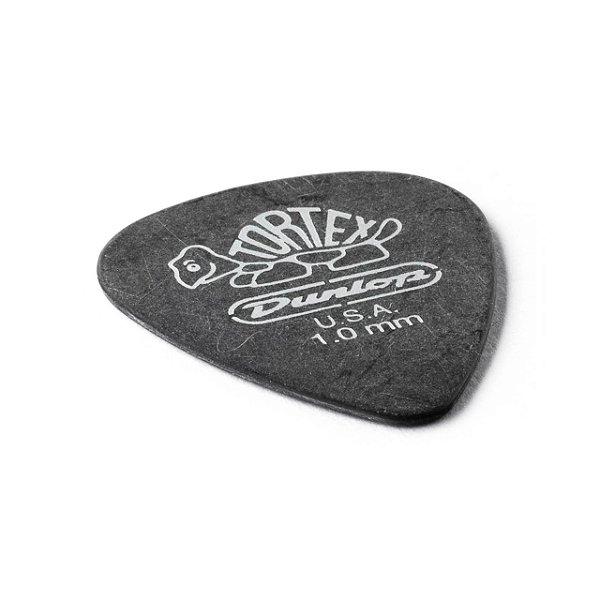 Palheta Tortex 1,00mm Preta Pct C/12 488p1.0 Dunlop