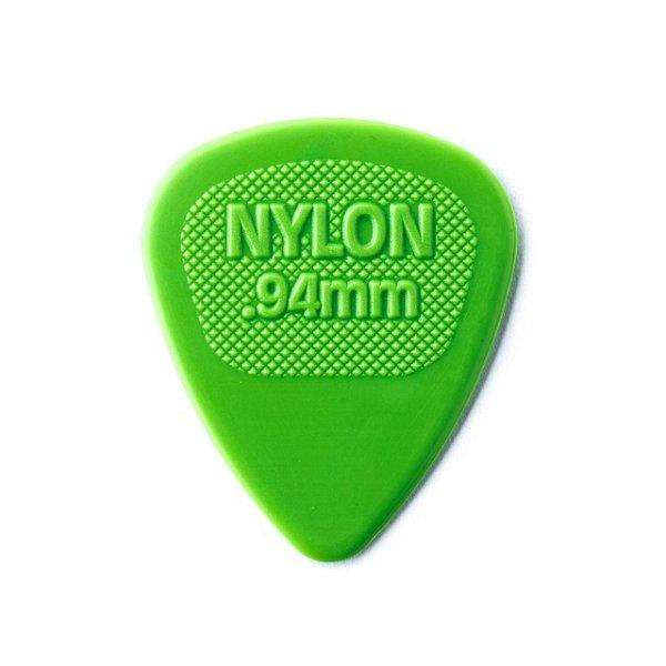Palheta Nylon Midi 0,94mm Verde Pct C/72 443r.94 Dunlop