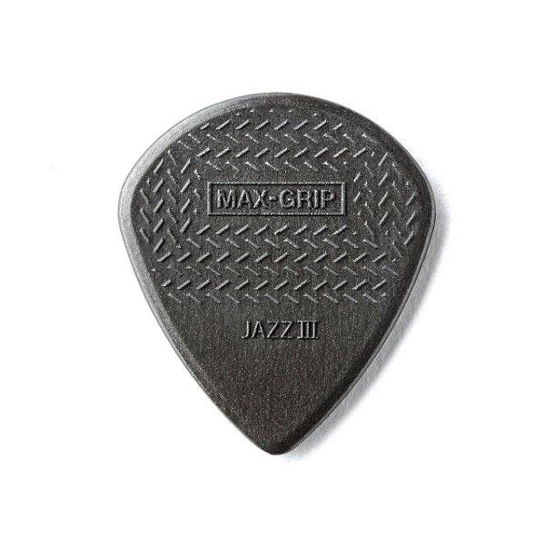 Palheta Maxgrip Nylon Jazz Iii Fibra De Carbono Pct C/6 471p3c Dunlop