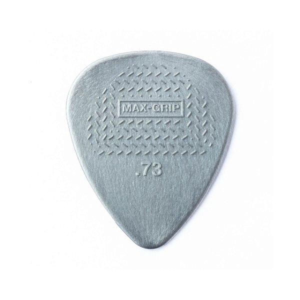 Palheta Maxgrip Nylon 0.73mm Cinza Pct C/12 449p.73 Dunlop