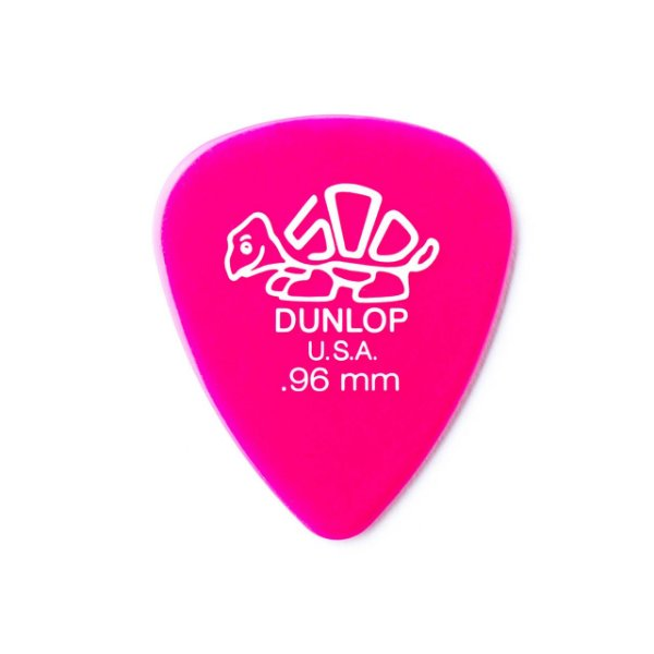 Palheta Delrin 500 0,96mm Pct C/12  41p.96 Dunlop