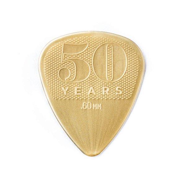 Palheta Nylon 0,60mm 50 Aniversario Pct C/10 442p.60 Dunlop