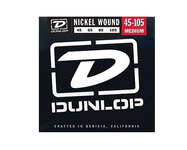 Enc. 045 P/baixo 4c Niquel Media Dbn45105 Dunlop