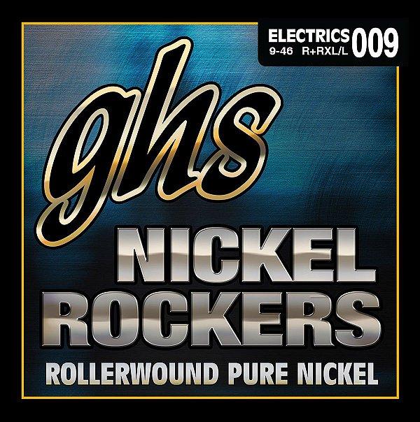 R+RXL - ENC GUIT 6C NICKEL ROCKERS 009/042 - GHS