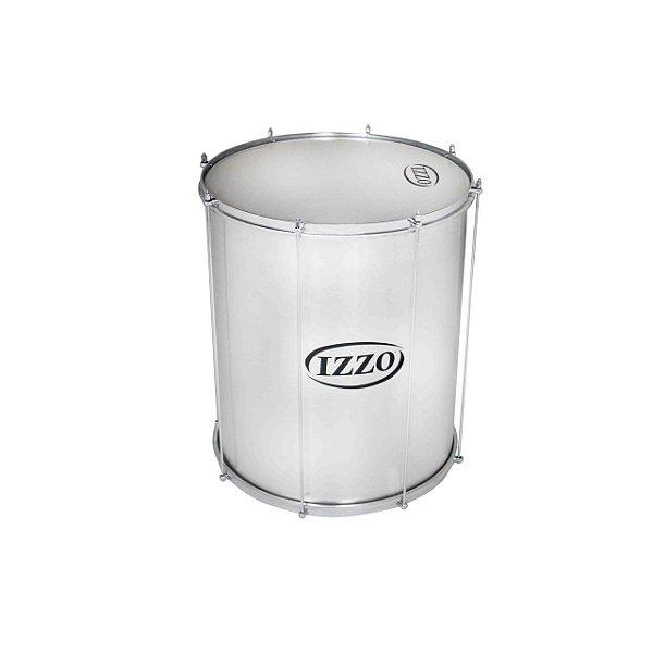 Surdo 20 Pol X 60 Cm Aluminio C/pele Leitosa 8 Afinadores Izzo