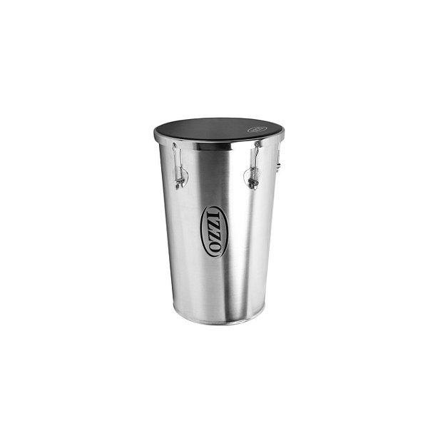 Rebolo 12 Pol X 50 Cm Aluminio Conico C/ Pele Napa Izzo