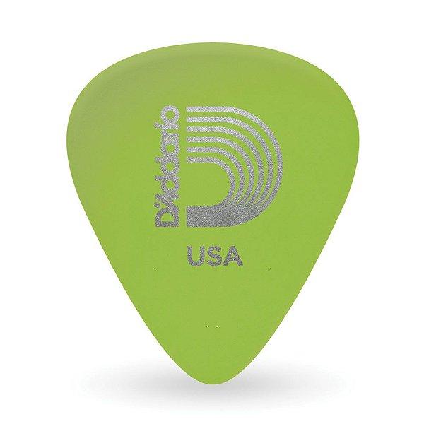 Palheta Para Guitarra Celuloide Glow Leve (Pacote Com 10) D'Addario 1CCG2-10