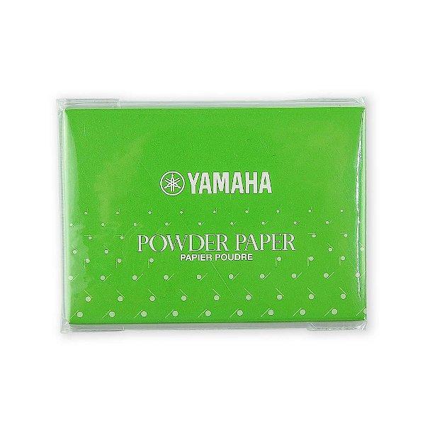 Papel Yamaha com Talco para  Limpeza de Sapatilhas com 50 folhas (Powder Paper)