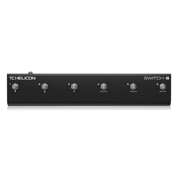 Switch-6 Footswitch - SWITCH-6 - TC HELICON