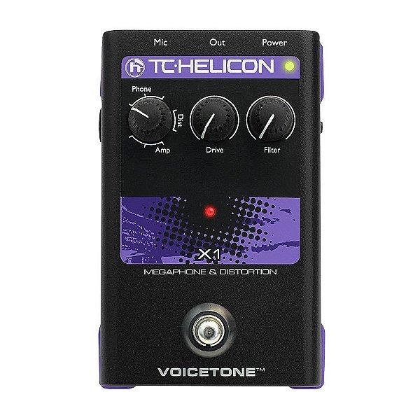 Processador de voz - Voicetone x1 - TC HELICON