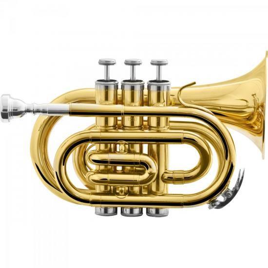 Trompete HARMONICS Pocket Bb HMT-500L Laqueado
