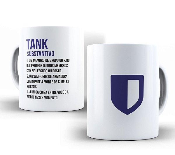Caneca Dicionário Tank Branca
