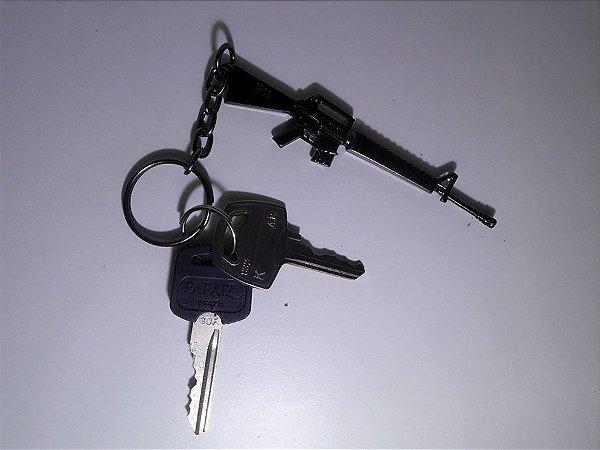 Chaveiro Fuzil M16