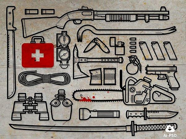 Kit de Sobrevivencia Zumbi