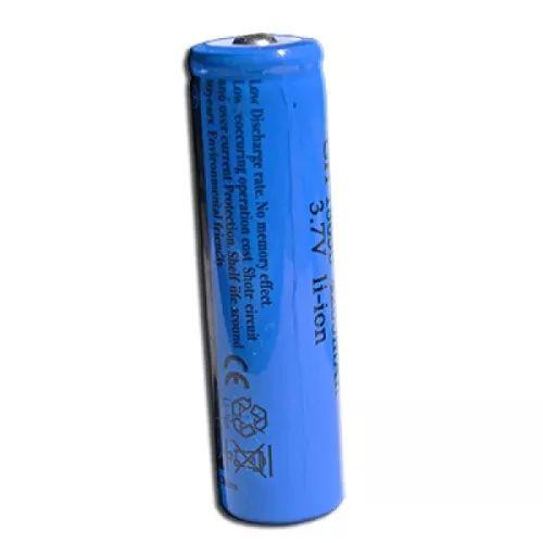 Bateria Recarregável 18650 4200mah 3.7v Lanterna Tática