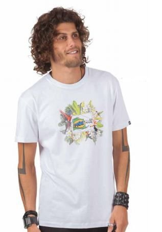 Camiseta Básica Silk Frente - P - Mormaii Outlet Online
