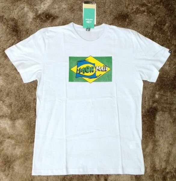 Camiseta Básica Silk Frente - G - Mormaii Outlet Online