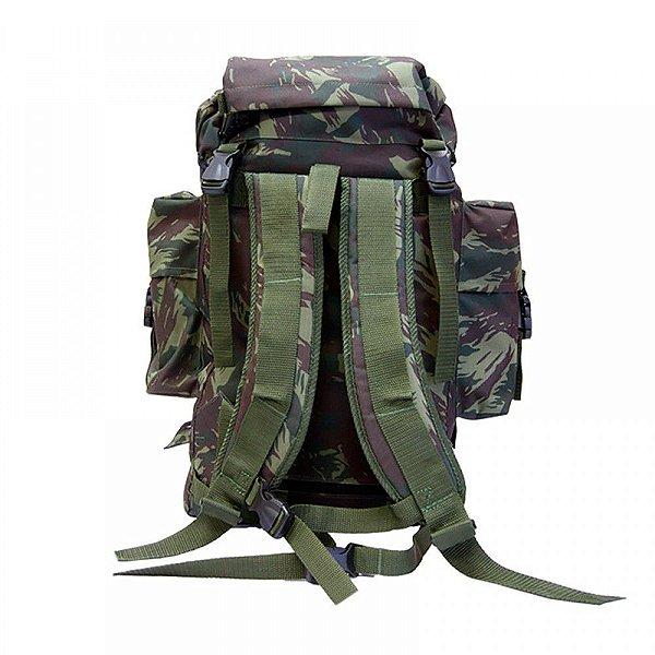 Mochila PQD Pára-quedista Camuflado - BOB - Bug Out Bag