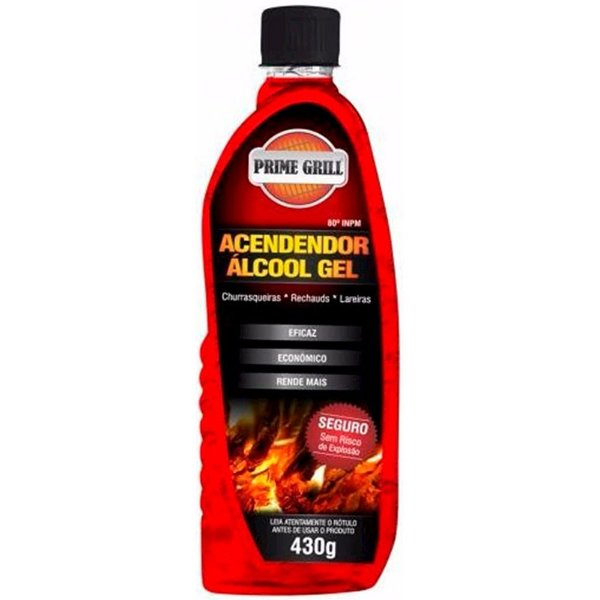 Acendedor álcool em gel 430g