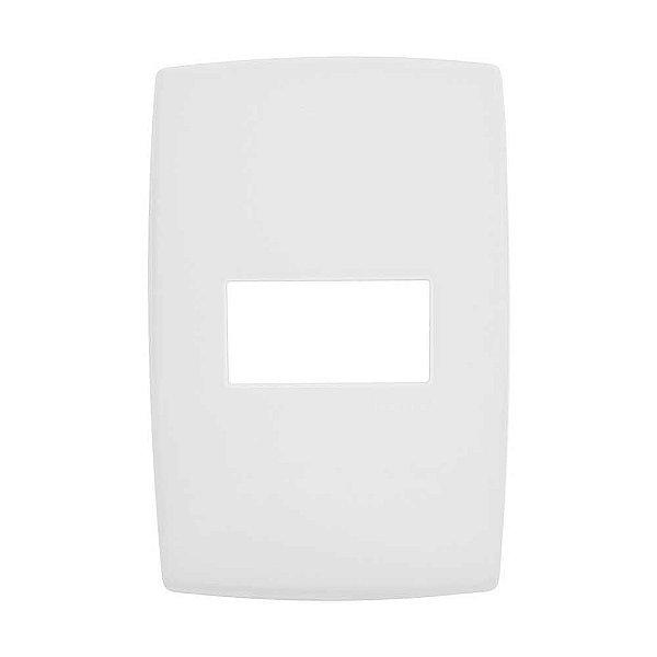 Pial plus - placa 4x2 p/ 1 posto horizontal - legrand