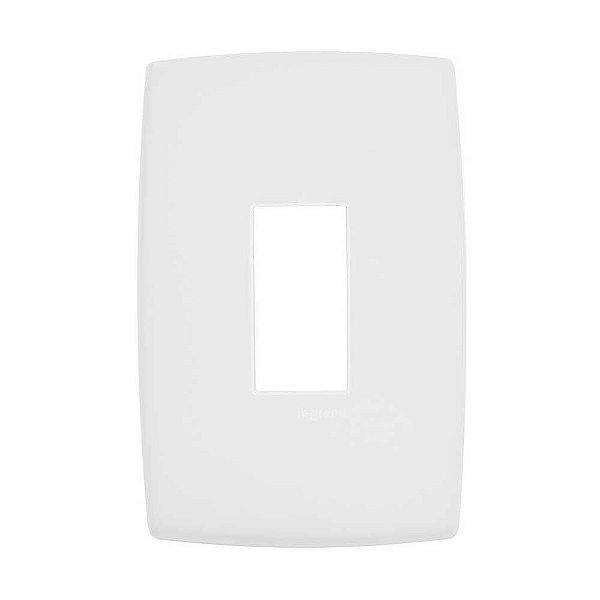 Pial plus - placa 4x2 p/ 1 posto vertical - legrand