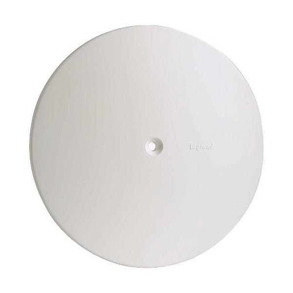 Pial plus - placa 4x4 redonda branco - legrand