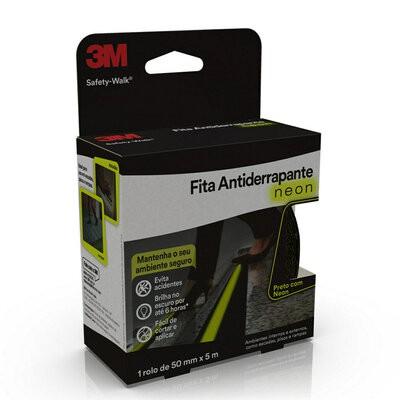 Fita antiderrapante 3m™ safety-walk® cinza - 50 mm x 5 metros