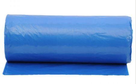 Lona plástica em metro - azul