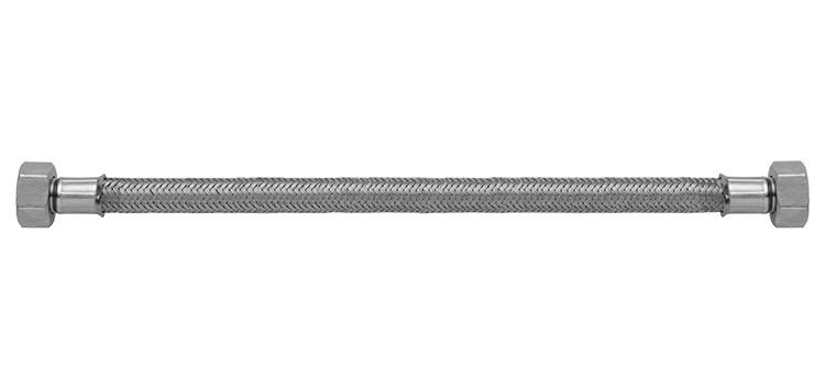 Ligação flexível para água 40cm 1/2 (dn15) x 1/2 (dn15) (fxf)