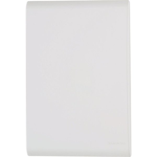 Placa cega 4x2  liz branca