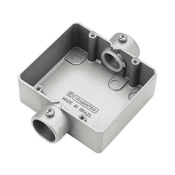 Condulete caixa derivacao (2) cd s/r 3/4 s/tampa