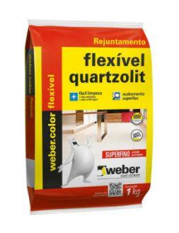 Rejunte Quartzolit Flexível Interno e Externo 1Kg Corda